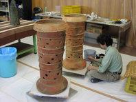 円筒埴輪レプリカ