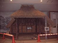 竪穴式住居再現